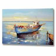 Handpainted  Boat  Canvas
