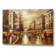 Paris  Street  Scene  Canvas