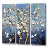 Set  Of  Three  Branches  Canvas'