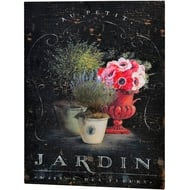 Jardin  Tin  Sign