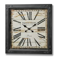 Dupont  &  Allardet  Paris  Iron  Clock