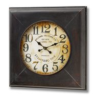 Gibbs  Welding  Square  Iron  Clock
