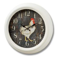 Kitchen  Cockerel  Clock
