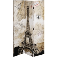 Paris Eiffel Tower Scene Screen
