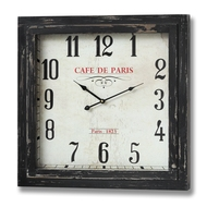 Cafe  De  Paris  Wall  Clock