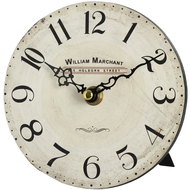William  Marchant  Small  Shelf  Clock  With  Stand