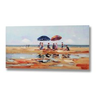 Handpainted Bright Beach Parasols