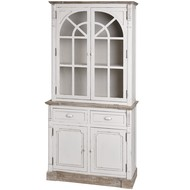 New England Kitchen Display Cabinet