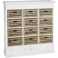 Hampshire  12  Drawer  Storage  Unit