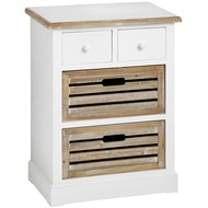 Hampshire  Storage  Unit  With  4  Drawers