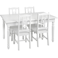 Hampshire  Dining  Table  And  Four  Chairs