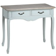 Duck  Egg  Blue  Two  Drawer  Console