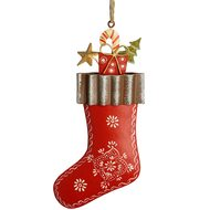 Hanging  Red  Stocking  Decoration