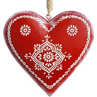 Pretty  Red  Heart  Decoration