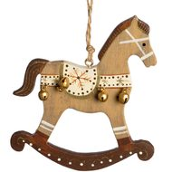 Wooden  Horse  Hanging  Decoration