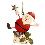 Hanging  Santa  Tree  Decoration