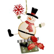 Hanging  Snowman  Tree  Decoration