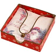 Vintage  Christmas  Napkin  Holder