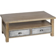 Artisan  2  Drawer  Coffee  Table