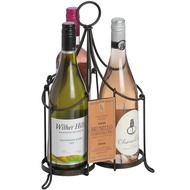 Rustic  Three  Bottle  Wine  Carrier