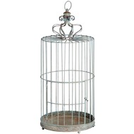 Ornate  Bird  Cage  Candle  Lantern