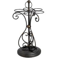 Ornate  Metal  Umbrella  Stand  -  Antique  Bronze