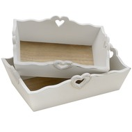 Set  Of  2  Essence  Deep  Trays