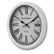 Montmarte  Paris  1812  Oval  Clock