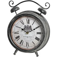 Royal  Crest  Table  Clock