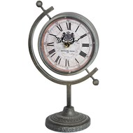 Royal Crest Clock on a Stand