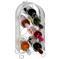 Shabby  Chic  Seven  Bottle  Wine  Rack