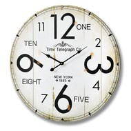 Time  Telegraph  Company  Wall  Clock