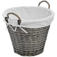 Lined Wicker Basket