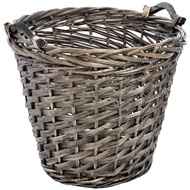 Deep Wicker Basket