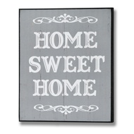 Home Sweet Home Plaque in Grey
