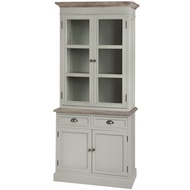 Lyon  Grey  Display  Cabinet