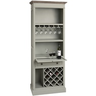 Lyon  Grey  Tall  Drinks  Cabinet