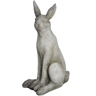 Sitting Stone Hare Statue