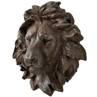 Polyresin Wall Mounted Lion Head