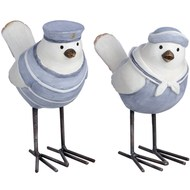 "Pair of 5"" Nautical Bird"
