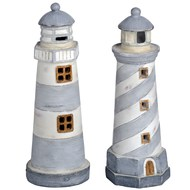 "8"" Lighthouse (set of two)"