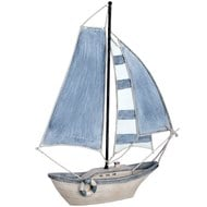 "14"" Sailing Boat (light blue)"
