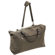 Mock  Nubuck  Expandable  Large  Holdall  W  Shoulder  Strap  (dark)