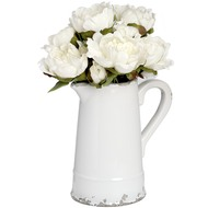 Cream  Ceramic  Jug  (63-5307)