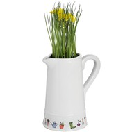 Garden  Theme  Ceramic  Jug  (64-0008)