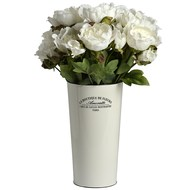 Large enamel florists bucket