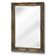 Antique Gold Rectangle Mirror
