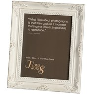 8''x10'' Antique White Gilded Photo Frame