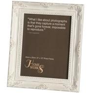 8''x10'' Antique White Gilded Photo Frame