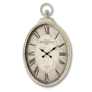 Kensington Station Oval Wall Clock